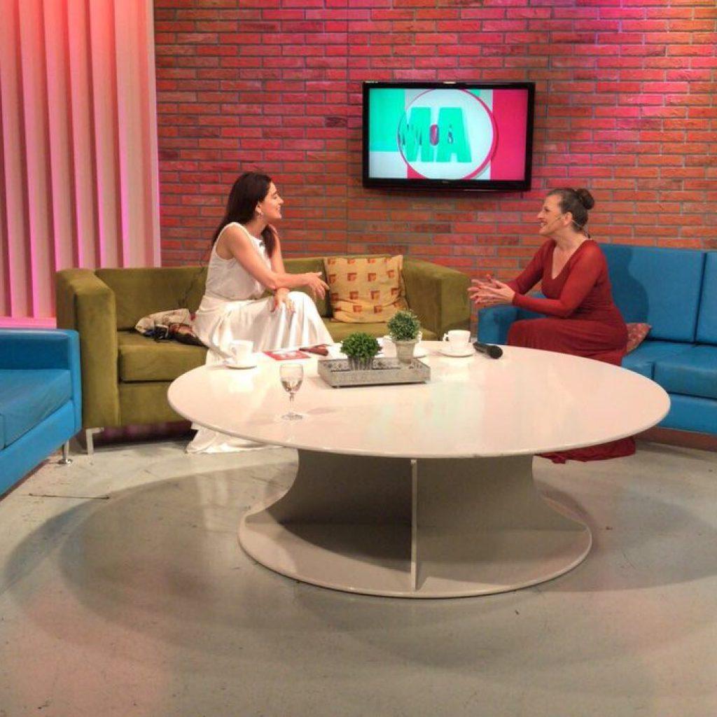 Magazine TV. Informadísimos. Entrevista en la TV Argentina
