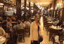 """María Villarroya presentará a la prensa argentina su musical """"Silencios cantados"""" en el mítico Café Tortoni de Buenos Aires"""